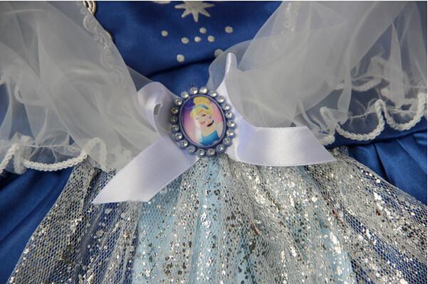 DB23655 Children Girl princess sofia dress-14