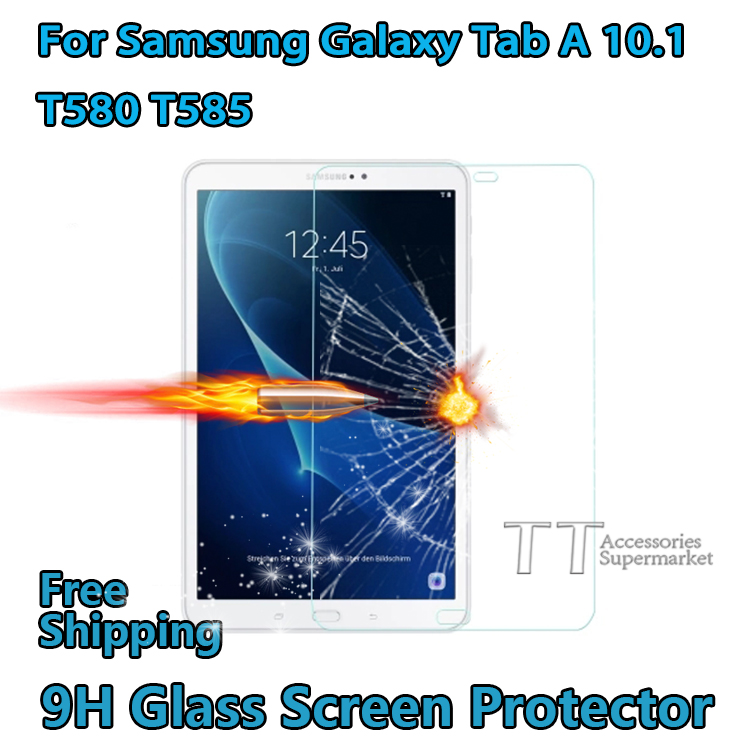Tempered Glass Screen Protector For Samsung Galaxy Tab A 10 1 T580 T585 tablet T580N T585