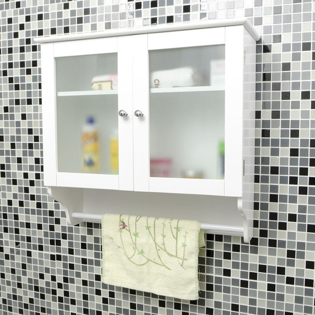 Fa Mini New Simple Bathroom Balcony Blinds Hanging Cabinet Wall Storage Closet Compartment