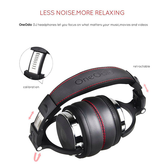 Oneodio Foldable Over-Ear Wired Headphone For Phone Computer Professional Studio Pro Monitors Music DJ Headset Gaming Earphone