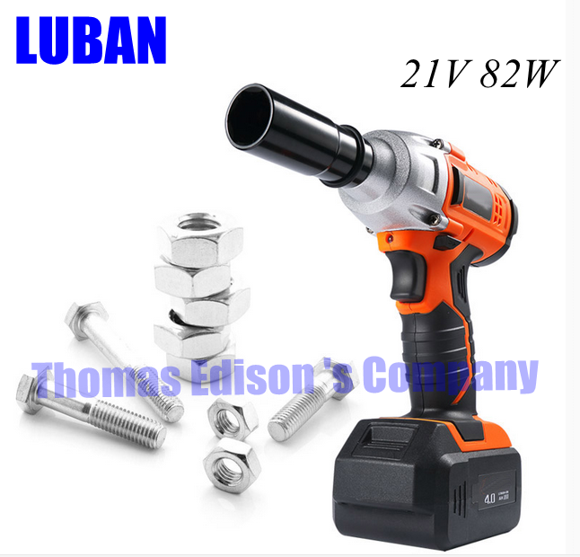 Lithium rechargeable electric wrench impact wrench cordless tool rack