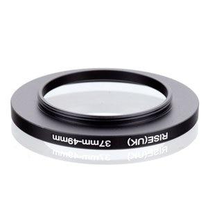 Image 2 - original RISE(UK) 37mm 49mm 37 49mm 37 to 49 Step Up Ring Filter Adapter black