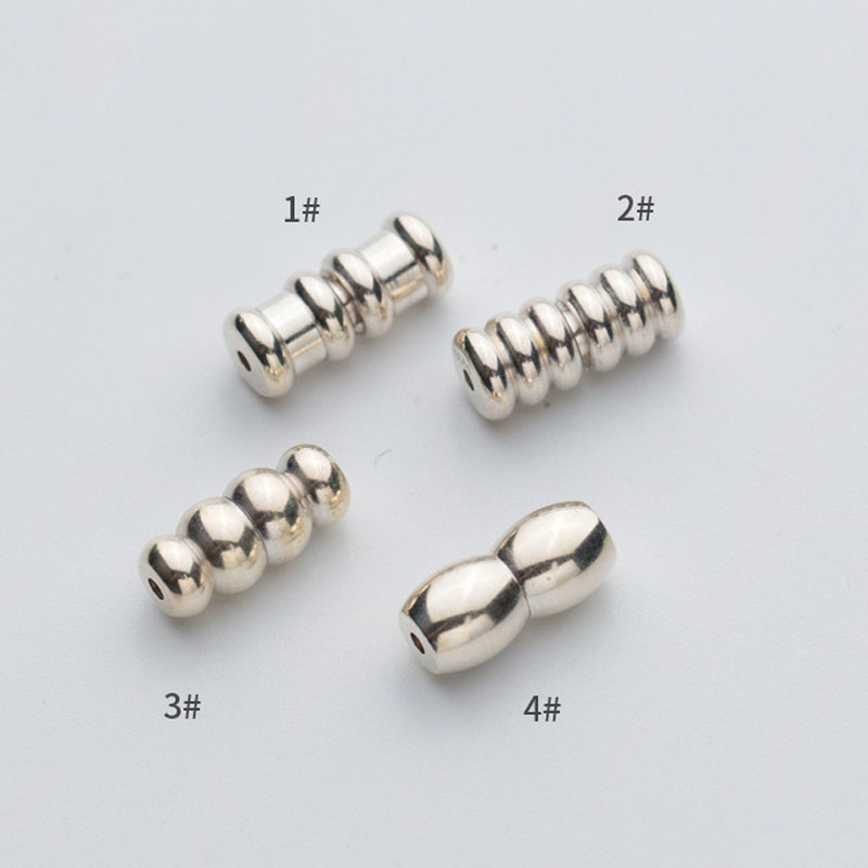 925 Sterling Silver Charm Buckle Clasp Hook Screw Connector Findings Jewelry