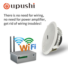 Wireless ceiling speakers wifi 6 5 inch bluetooth loudspeakers oupushi wifi home music system best in