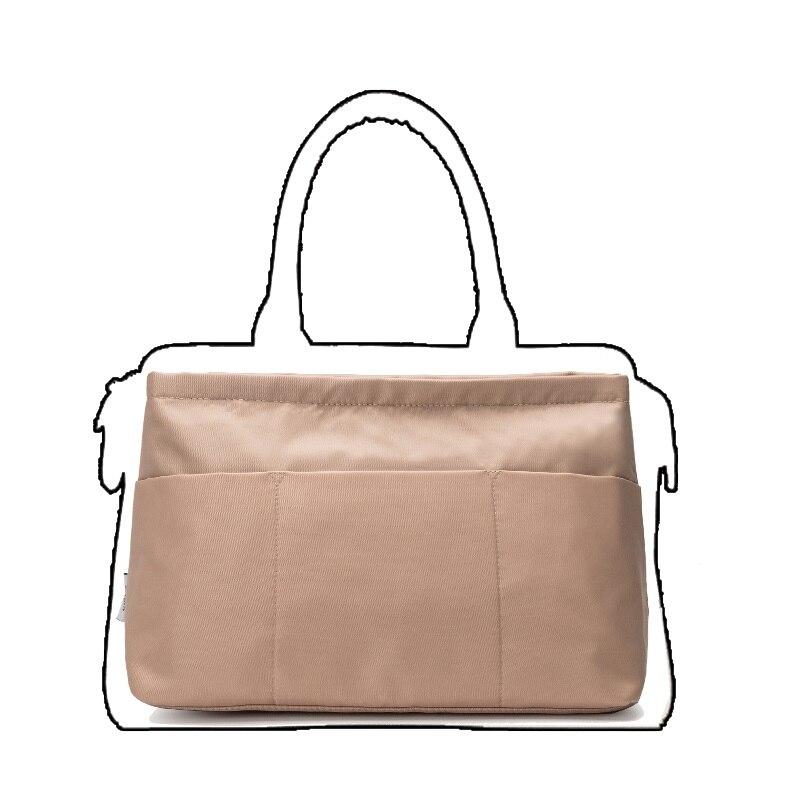 Makeup Organizer Bag Toiletry Bag Trapezoidal Portable Insert Bag