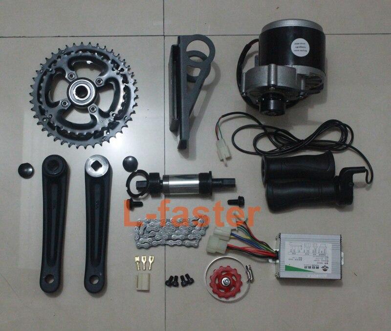 Electric Bike Motor Kit Price: 48V 450W E BIKE BRUSHED MOTOR MID DRIVE ELECTRIC BICYCLE