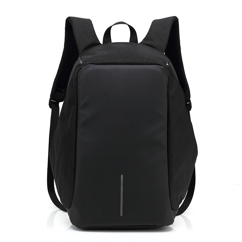 ФОТО Men Casual School Laptop Backpack Male Leisure Travel Computer Backpacks Student Daypack 14 Inch