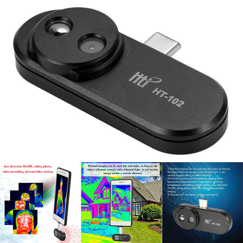Mobile Phone External Thermal Imager Handhold Infared Imager for Android Phone @JHMobile Phone External Thermal Imager Handhold Infared Imager for Android Phone @JH