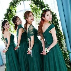 Image 5 - KSL133 จัดส่งฟรี Emerald ใหม่ยาวชุดเจ้าสาวงานแต่งงานชุด