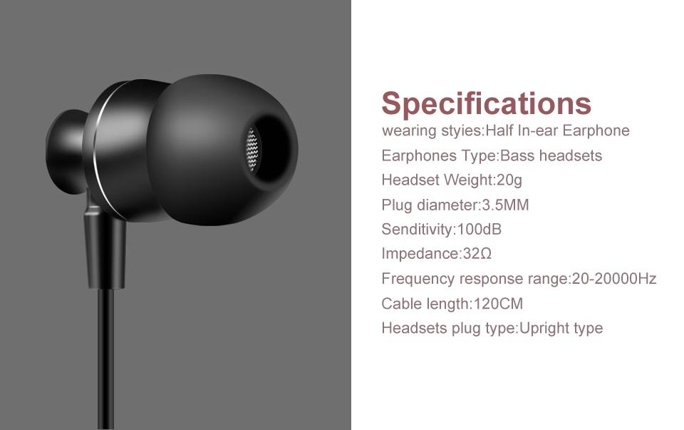 HTB1lgpXSpXXXXbhXFXXq6xXFXXXM - Earphones PTM P30 Metal Earbuds Headphone