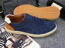european and american style Sko Flats boys blue mens shoes casual zapatos de los hombres Fur Breathable Massage 5 colors