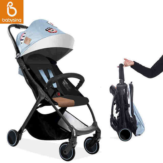 Baby Stroller Pram Baby Stroller 3 In 1 Baby Car Ultra Portable Folding Umbrella Car Can Sit And Lie Baby Stroller Buggy Coch Pa