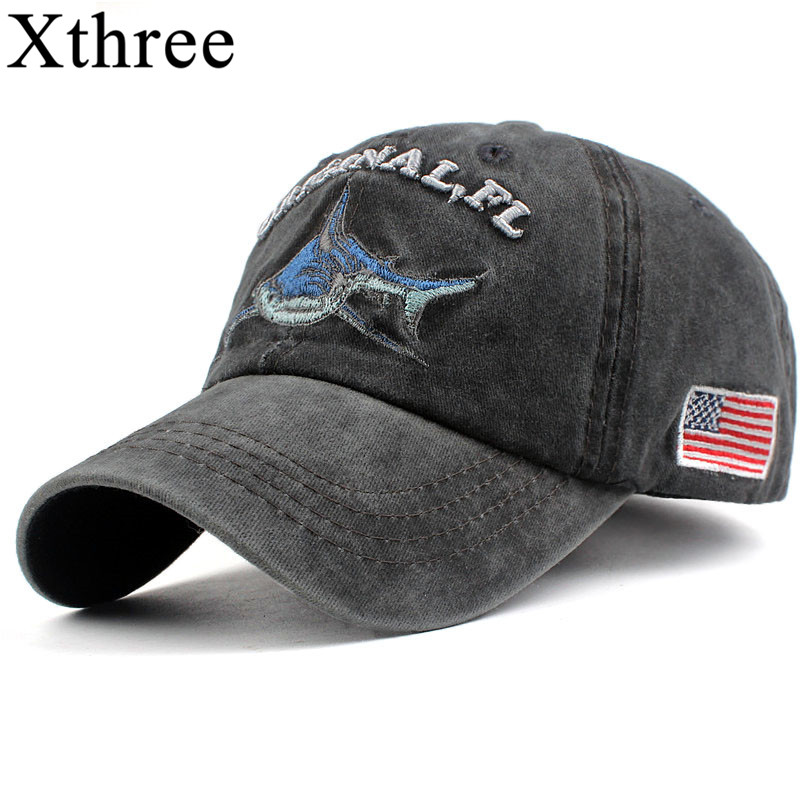 Xthree 100% washed cotton men baseball cap fitted cap snapback hat for women gorras casual casquette embroidery letter retro cap xthree fashion hat caps sunshading men and women s baseball cap rhinestone hat denim and cotton snapback cap