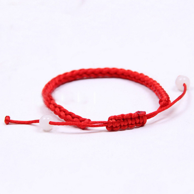 Lnrrabc Women Lucky Adjule Braided Bracelet Thin Red Rope Thread String Bracelets Pulsears Fashion Bangles