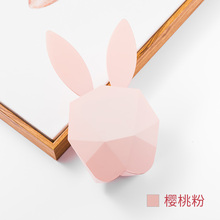 Кроличьи уши будильник Перезаряжаемые умный голосовой Управление ночник с рисунком цифровой творческий умная зарядка современный Design3DNZC26