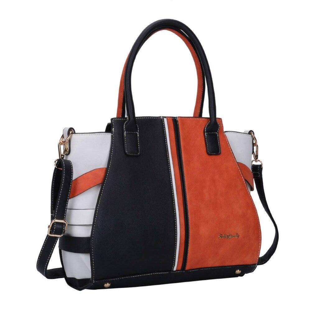 2017 Newest brand Designer top handle Handbags tassel Pu leather tote  Shoulder Bag Handbags online Sale bag handbags SY5036-in Shoulder Bags from  Luggage … a84a4cde68