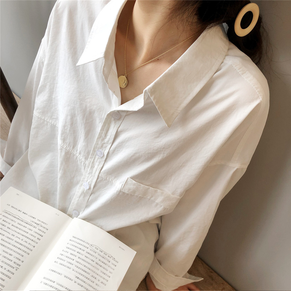 Vintage Women Blouse Shirts 2019 Autumn Korean Long Sleeve Women's Tops Blouses Blusas Roupa Feminina Tops High Quality Y6523 (5)