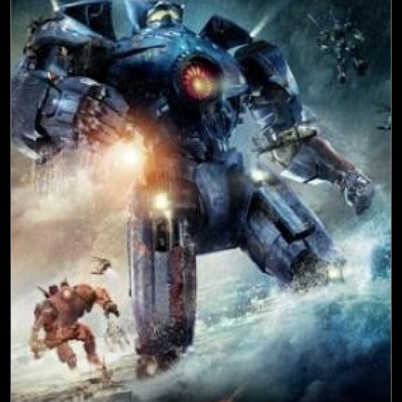 Pacific Rim (Neca) One Sheet Laminated & Framed Poster (24 X 36)