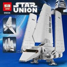 LEPIN 05034 2503 Pcs Star Wars Imperial Navette Modèle Kit de Construction Blocs Briques Enfants Jouet Compatible legoed 10212
