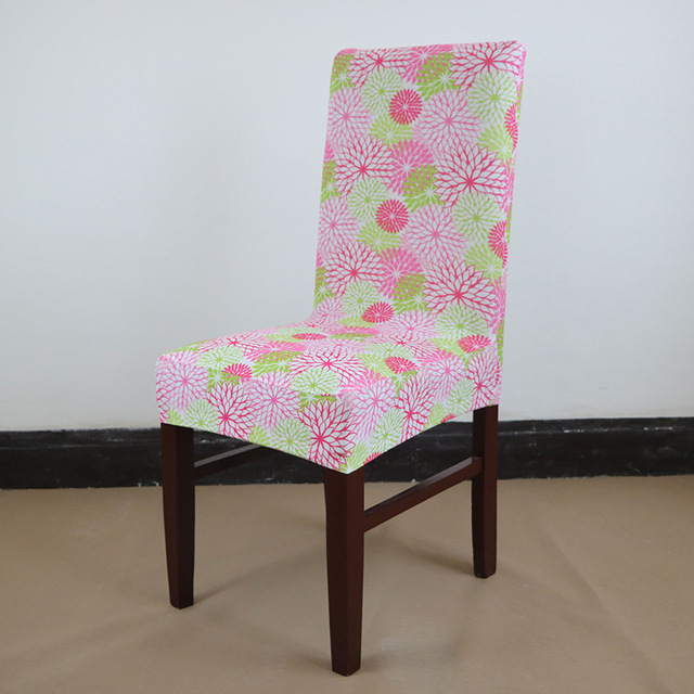 Ordinaire Floral Print Chair Cover Home Dining Elastic Chair Covers Multifunctional  Spandex Elastic Cloth Universal Stretch