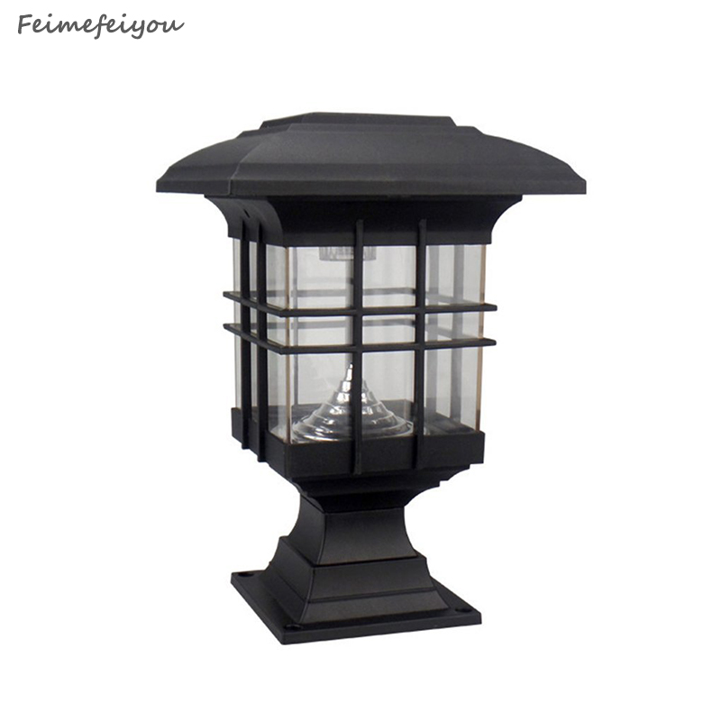 4 Foot Outdoor Solar Powered Lamp Post With: Feimefeiyou Lampada Solar Waterproof Newest Hot Sale