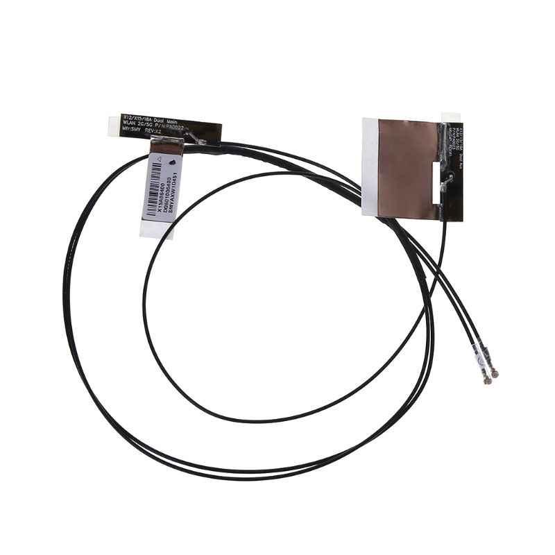 2 cái/bộ Không Dây IPEX MHF4 Antenna WiFi Cáp Kép Ban Nhạc Máy Tính Xách Tay Máy Tính Bảng cho NGFF M.2