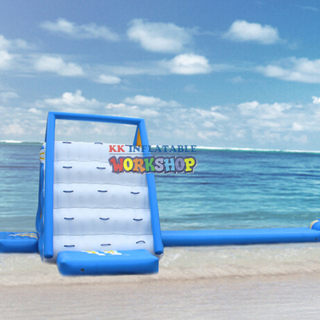 Inflatable water slide tunnel combination made in China