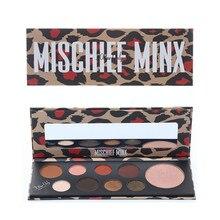 9 Color Eyeshadow Silk Palette Sexy Leopard Graffiti Personality Matte Flash Eye Shadow Natural Powder Smokey Makeup