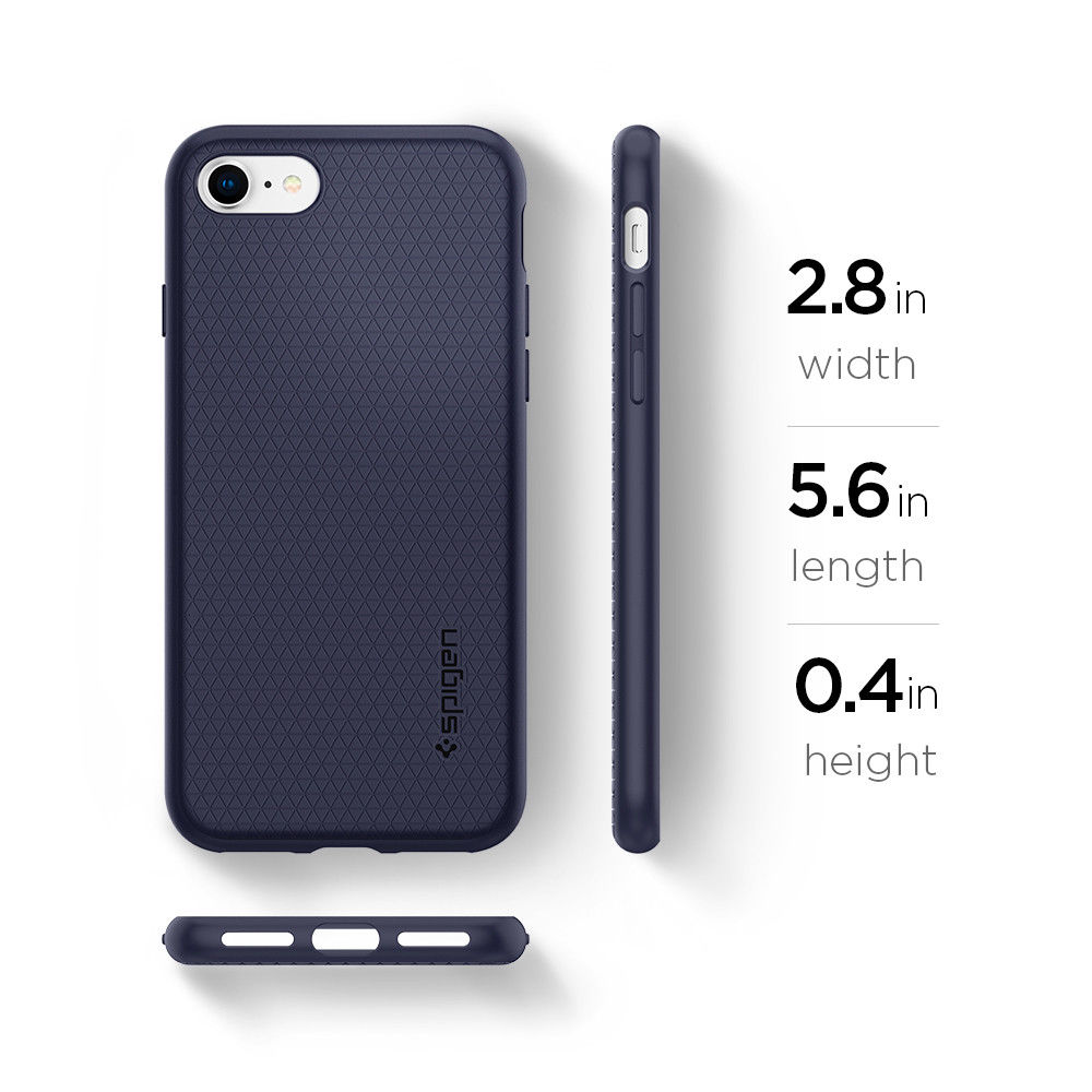 premium selection ff62a 14bef US $16.14 5% OFF|100% Original SPIGEN Liquid Air Armor Case for iPhone 8 /  iPhone 7 (4.7