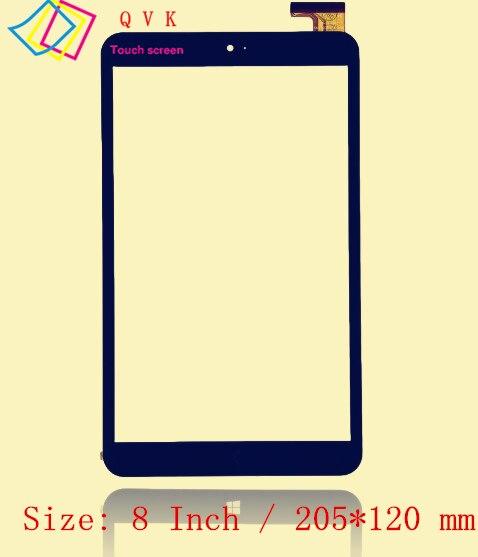 Nero 8 Pollici per Onda V820W Chuwi Vi8 FPC-FC80J107-03 tablet pc capacitivo dello schermo di tocco di vetro digitizer pannello di Trasporto libero