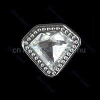3pcs/lot Diamond Clear Crystal Glass Drawer Cabinet Knob Door Pull Handle Hardware #L057# new hot