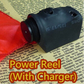 Power Reel (With Charger) - Trick,Magic Tricks,Accessory,Gimmick,Illusion,Silk Flying Device