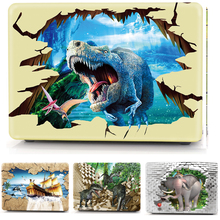 Animal Pattern Cover Case For Macbook Air 11 13 Pro Retina 12 13 15 Protective Shell for Apple mac book Pro 13.3 15.4 Touch Bar все цены