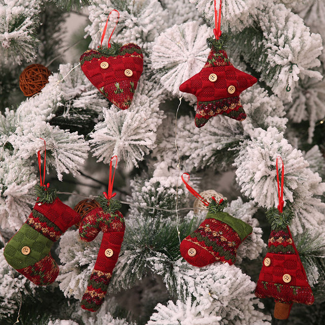 2018 christmas tree decorations for home santa claus snowman boots xmas tree christmas decorations ornaments - Christmas Tree Decoration Kits