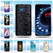 For Nokia Microsoft Lumia 640 Case Cartoon 3D Relief Printing Pattern Back Cover TPU Soft Silicone Case