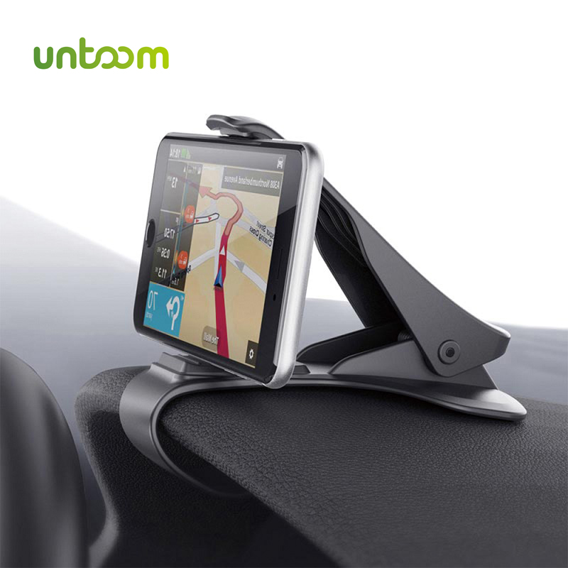6.5inch Universal Dashboard Car Phone Holder GPS Display Bracket Antiskid Dashboard Adjustable Mount For Apple IPhone Samsung