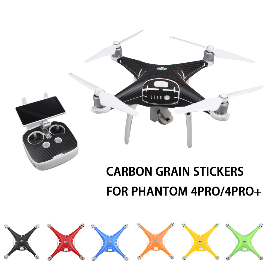 DJI Phantom 4 PRO və 4PRO + üçün Karbon Taxıl Qrafik - Kamera və foto - Fotoqrafiya 1