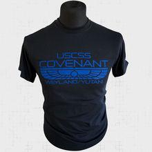 USCSS Covenant Weyland Yutani T Shirt Alien Prometheus Aliens Xenomorph Blue New Shirts Funny Tops Tee Unisex