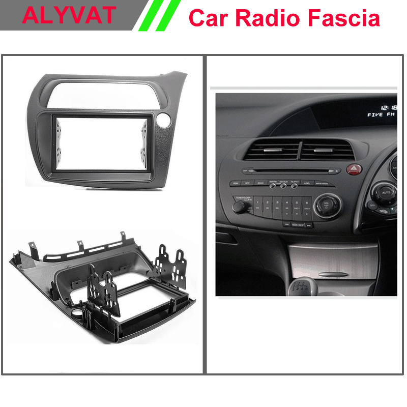 Top Quality Car Radio Fascia Frame for HONDA Civic Hatchback (Right Wheel) Stereo Facia Dash CD Trim Installation Kit edmond de goncourt hokusai