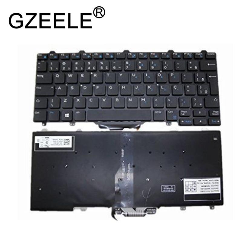 GZEELE Keyboard For DELL Latitude 7350 5480 5290 E5250 E7270 E7250 backlit BR Brazil PK1313O3B35 SN7231BL SG-63210-40A 0PTKNG home philosophy ваза ashley 11х24х34 см