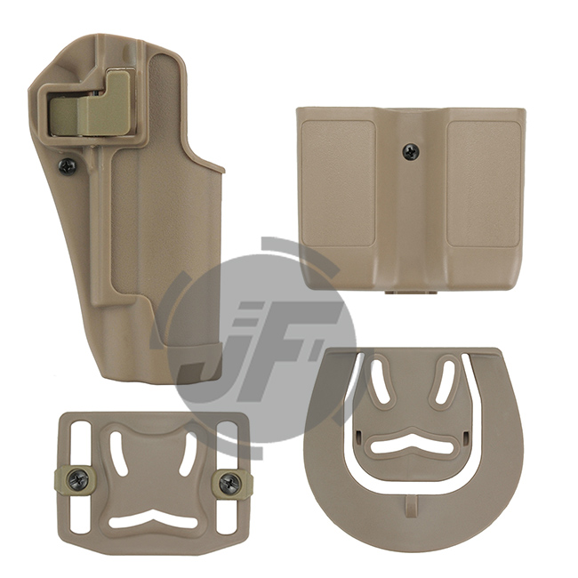 CQC Serpa Right Hand Pistol Holster w// MOLLE /& Mag Pouch for Colt 1911 M1911