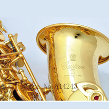 2017 New YAS 82Z Gold Plated Saxophone Alto Eb Sax Mouthpiece High Quality Sax Instruments Professional Saxofone