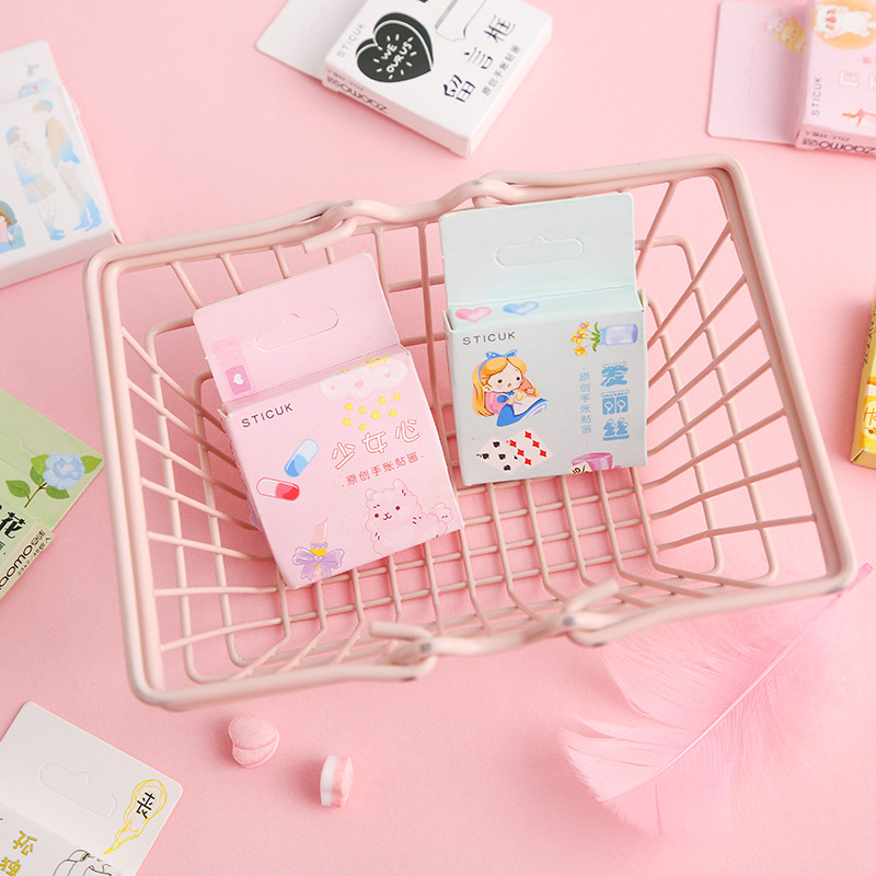 Creative Style Girl Hours Bullet Journal Decorative Stationery Stickers Scrapbooking DIY Diary Album Stick Label