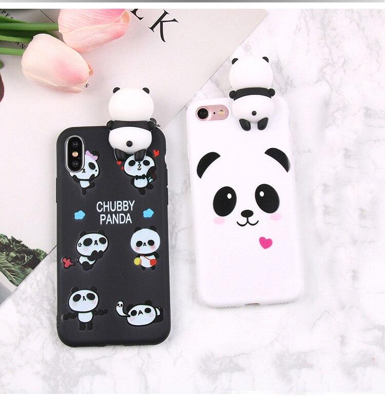 Pour Huawei P20 cas de bande dessinée, 3D Mignon licorne couverture arrière Molle pour Hauwei P20/P20 lite/P20 pro Panda téléphone cas