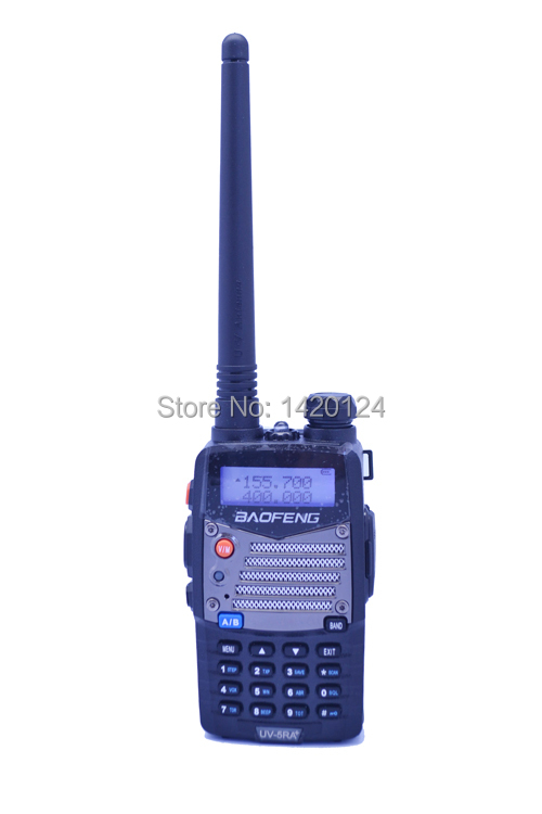 Baofeng UV 5RA PLUS Walkie Talkie Black 136 174 400 520 MHz Ham Two Way Radio