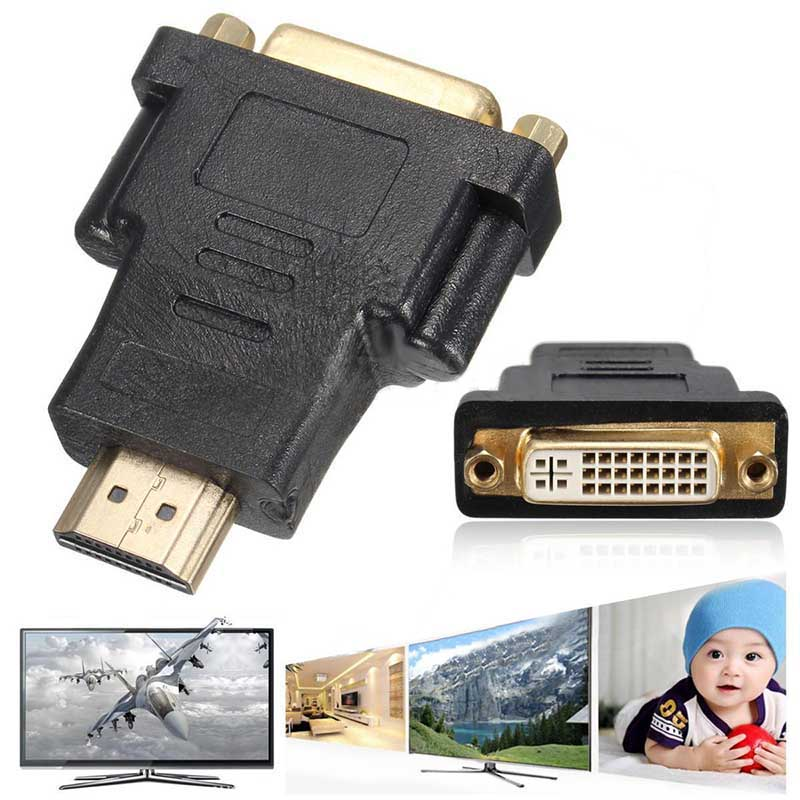 1Pc Micro HDMI to DVI Adapter 19Pin Male To DVI 24 + 5 Female Converter Adapter For PS3 HDTV Video Player фронтальная панель excellent ava obex avl15wh