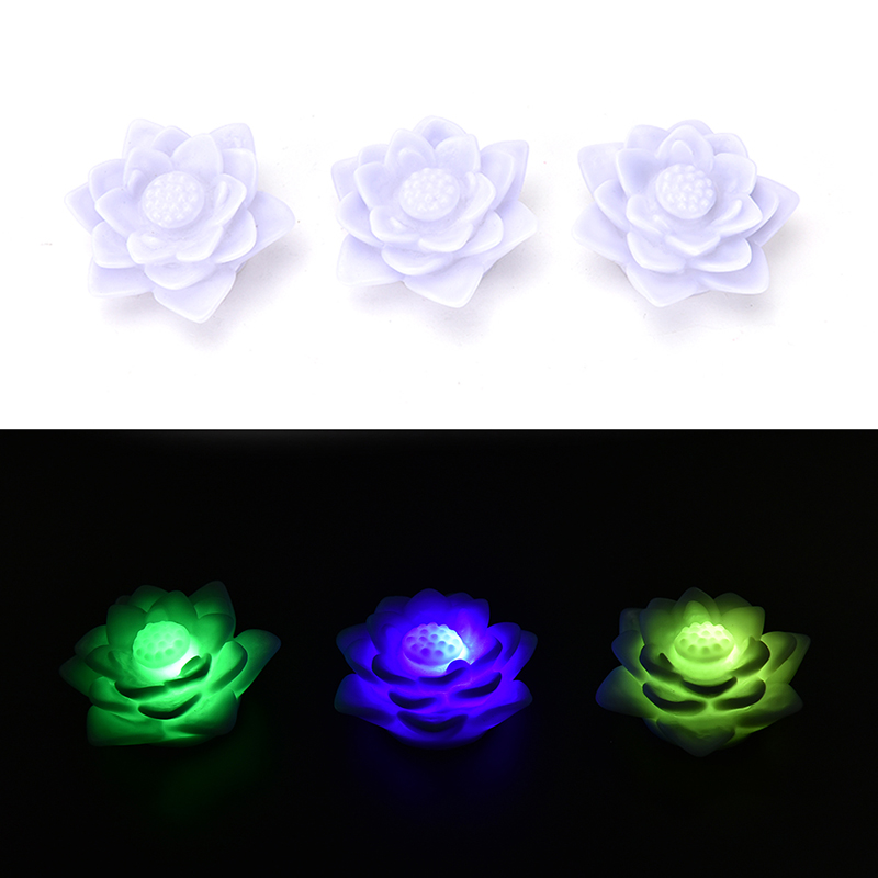 LED Night Light Romantic Love Mood Lamp Lotus Flower Night Light Color Changing Lotus Flower Home Decoration