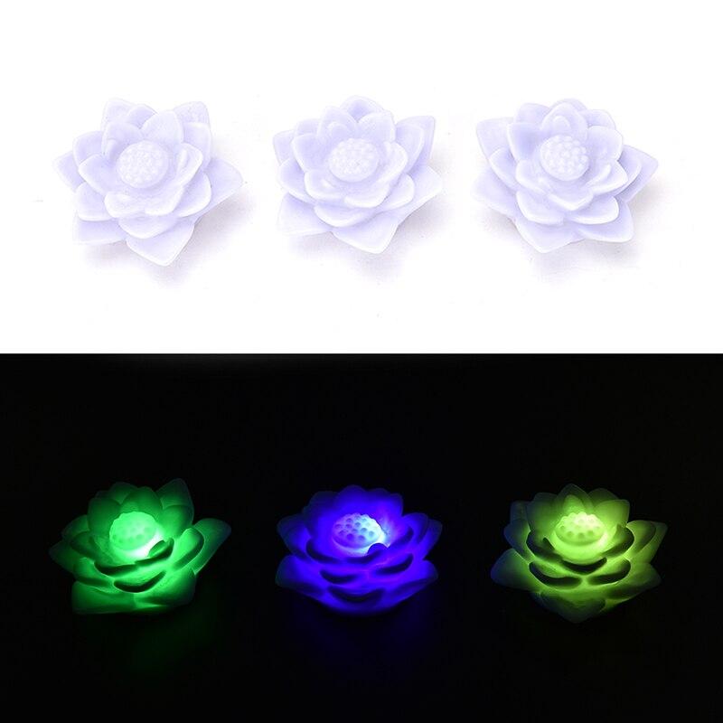 LED Night Light Romantic Love Mood Lamp Lotus Flower Night Light Color Changing Lotus Flower Home Decoration
