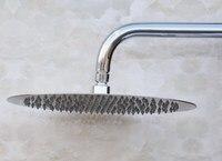 12 ( inch ) Stainless Steel Large Round Shape Rain Bath Rainfall Shower head / Bathroom Accessory (Standard 1/2) ash051