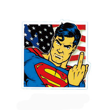 10pcs Dirty Superman Laptop sticker decal motorcycle fridge skateboard doodle stickers car accessories K30003